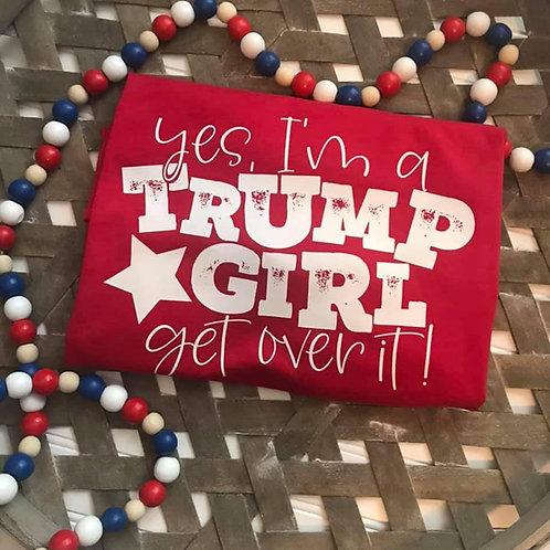 I am a Trump Girl. Tank or Unisex Tshirt