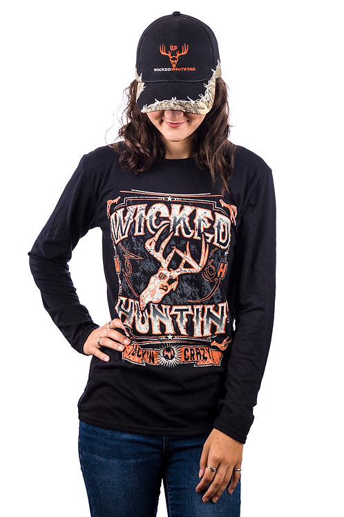 Unisex Wicked WhiteTail Long Sleeve T-Shirt