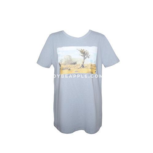 Tshirt azul desierto