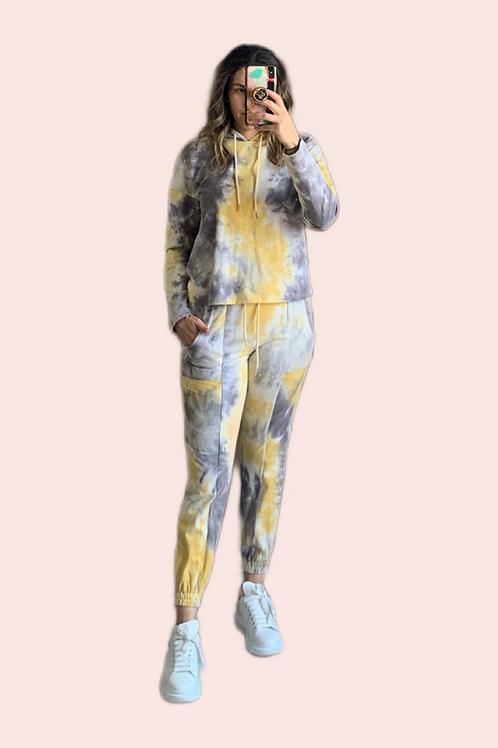 Set  pants tie dye