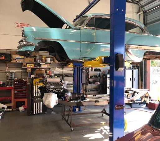 Chevy Bel Air Upgrades Naples FL