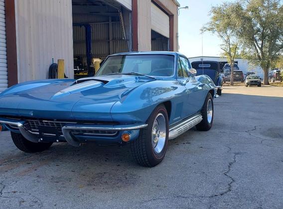 1967 Corvette - High End Paint Body Work in Naples.