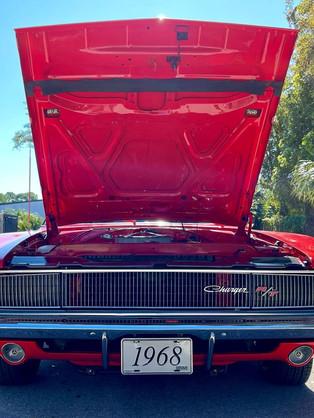 Open hood (red)