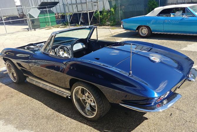 1964 Corvette Convertible (rear)