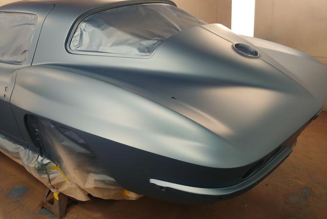 Custom Paint Naples FL Corvette