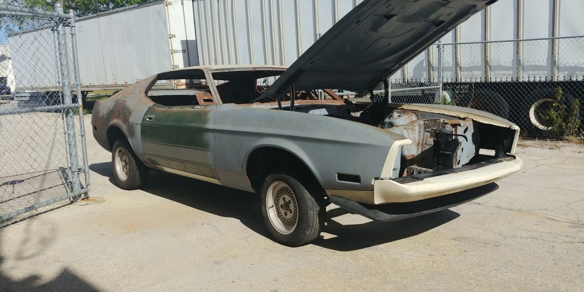 1973 Mustang Unfinished