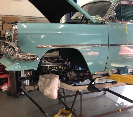 1954 Chevy Bel Air Restoration