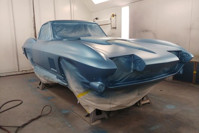 High End Paint Shop 1967 Corvette