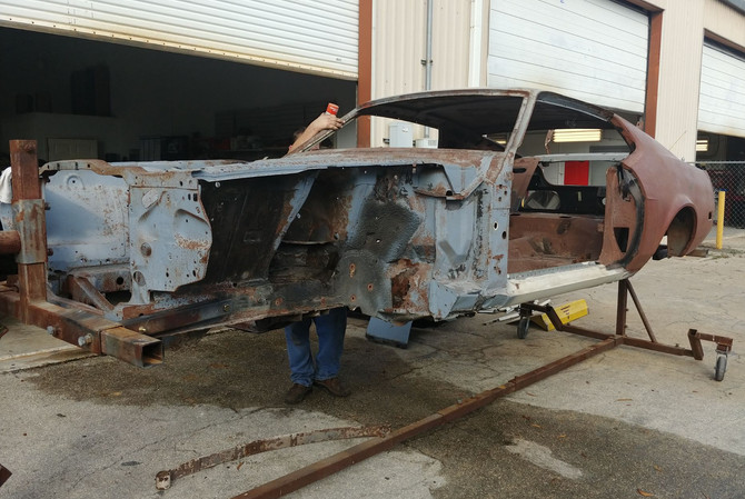 1973 Mustang - Unfinished Body