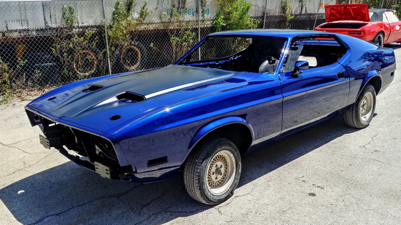 1973 Blue Mustang