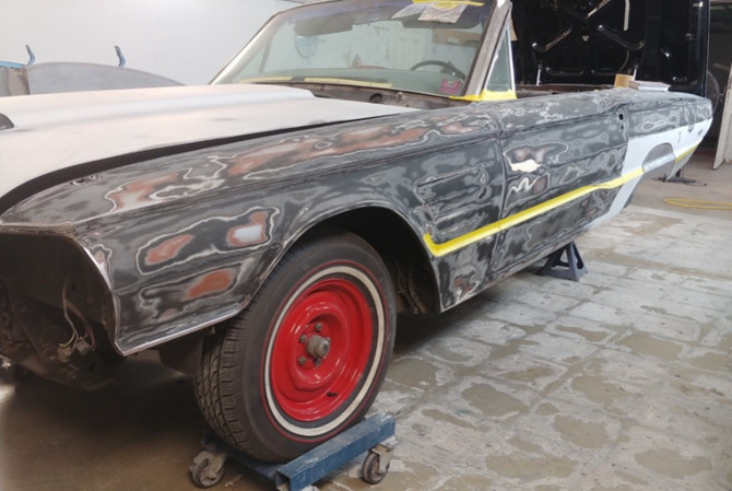 1965 T-Bird Red Tires