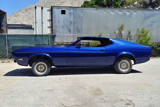 1973 Mustang - side view
