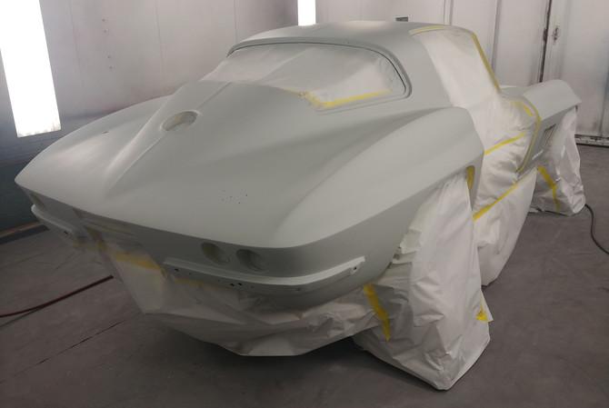Corvette Classic Paint Job Naples FL