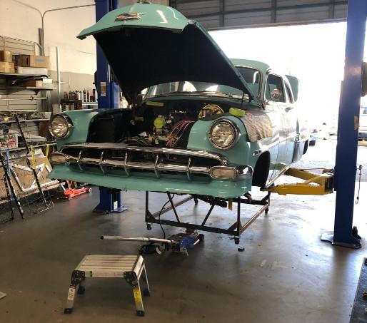 1954 Chevy Bel Air Restoration in Naples, FL