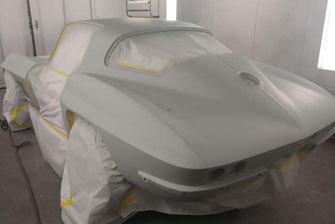 Corvette Paint Job Naples FL