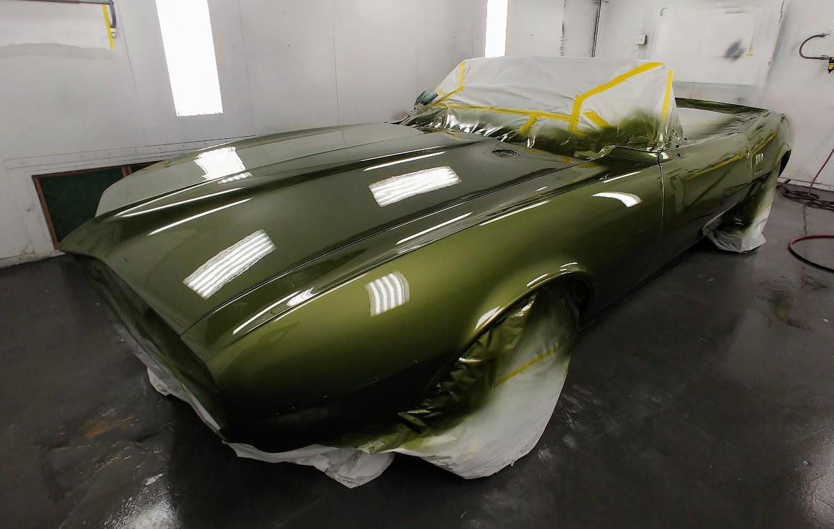 1968 Firebird Green - Body Paint