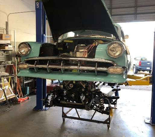 Chevy Bel Air Ramjet Install