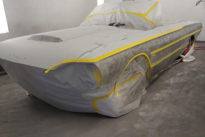 Black T-Bird Car Restoration(1)