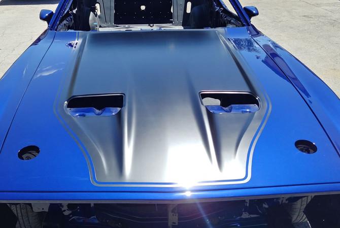 1973 Mustang - Racing Stripe