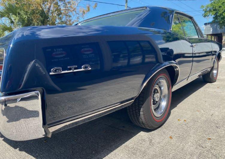 1967 Pontiac GTO - rear right