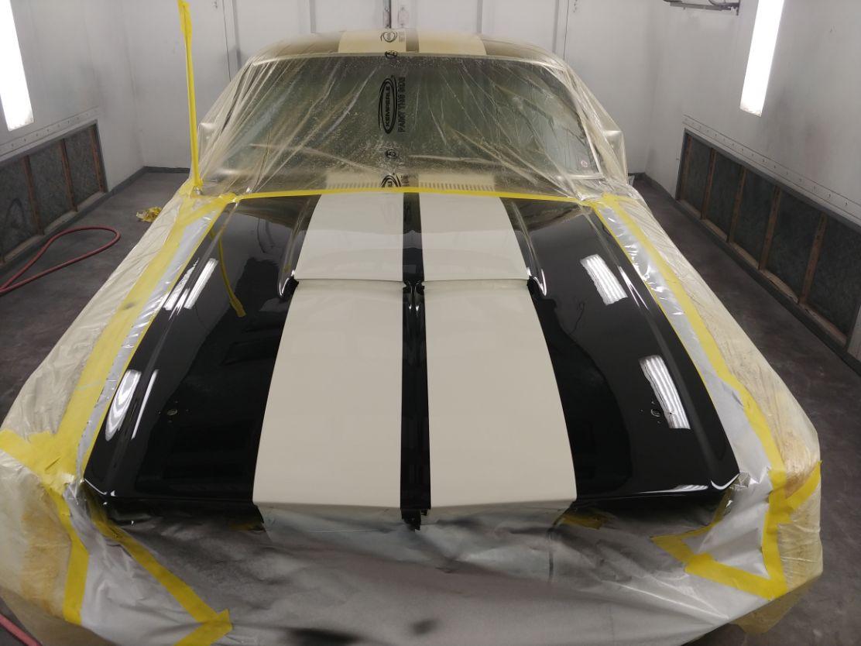 67 Shelby Gt350 Paint Job