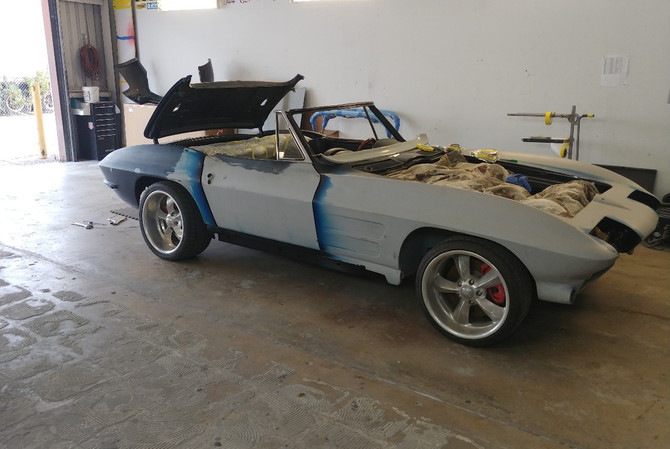 1964 Corvette Convertible - Body Work