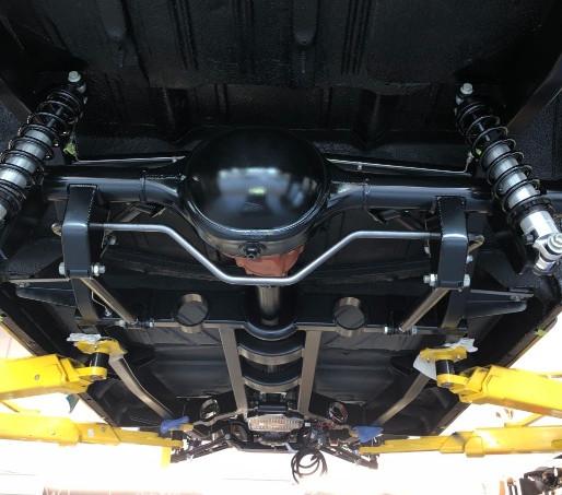 Art Morrison Sport Chassis Installation