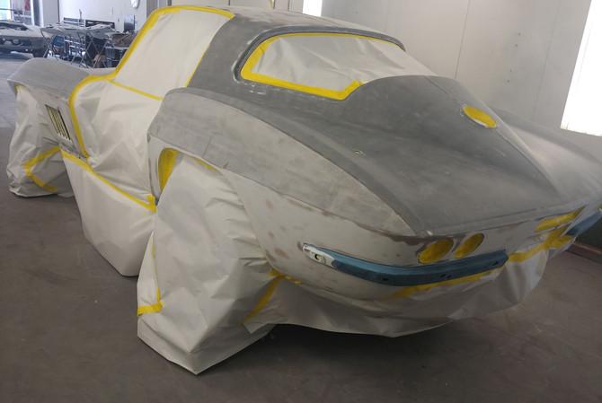 1967 Corvette Custom Paint Job