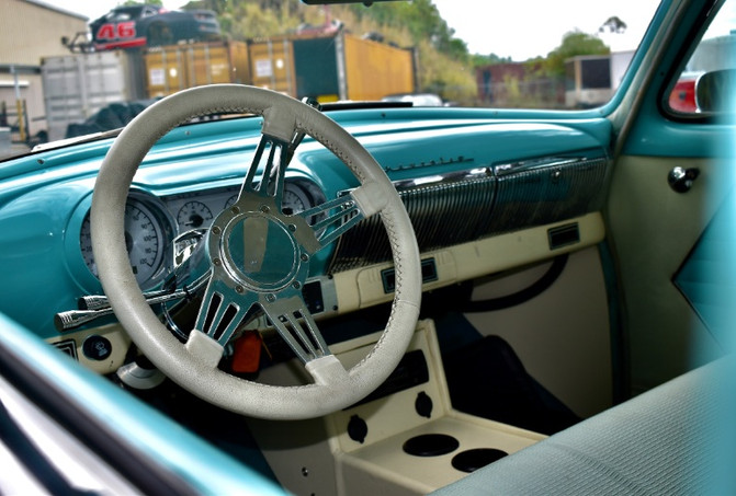 1954 Chevy Bel Air Interior