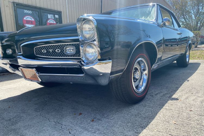 1967 Pontiac GTO - front right view