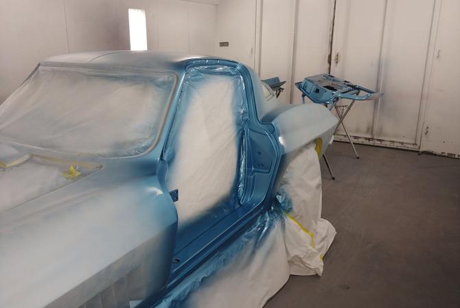 1967 Corvette Paint