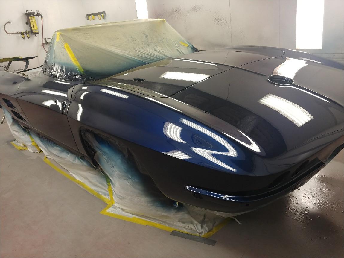 1964 Corvette Convertible - paint (rear)