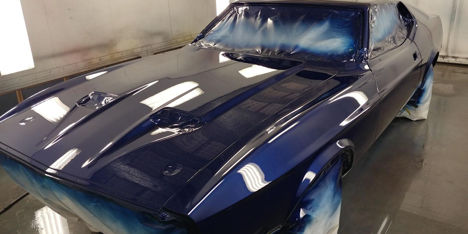 1973 Mustang -paint job