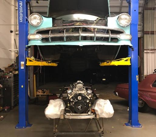 1954 Chevy Bel Air Upgrade