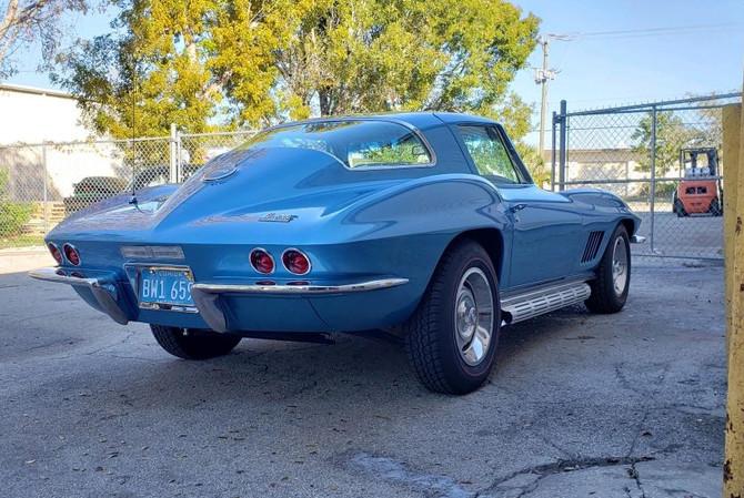 1967 Corvette Naples Paint Body Job