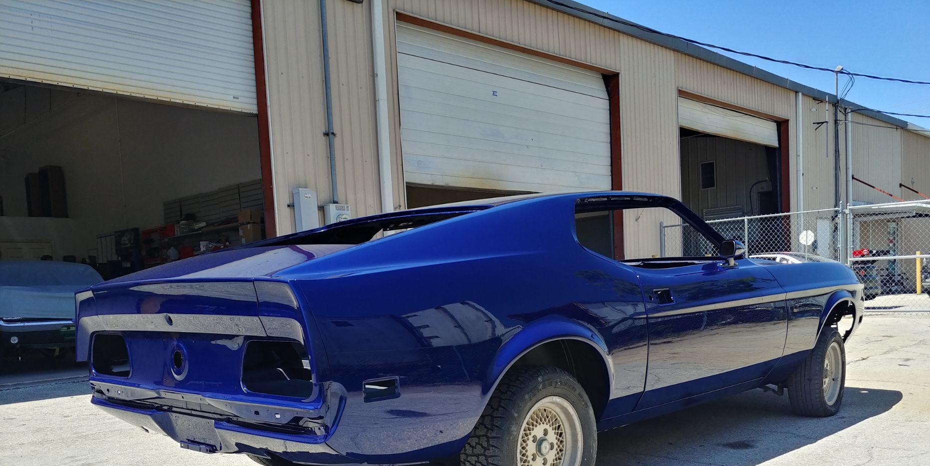 1973 Mustang - rear view