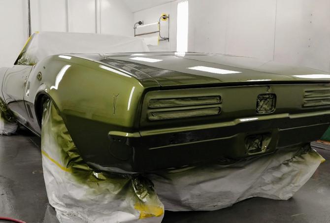 Green Painted 1968 Firebird