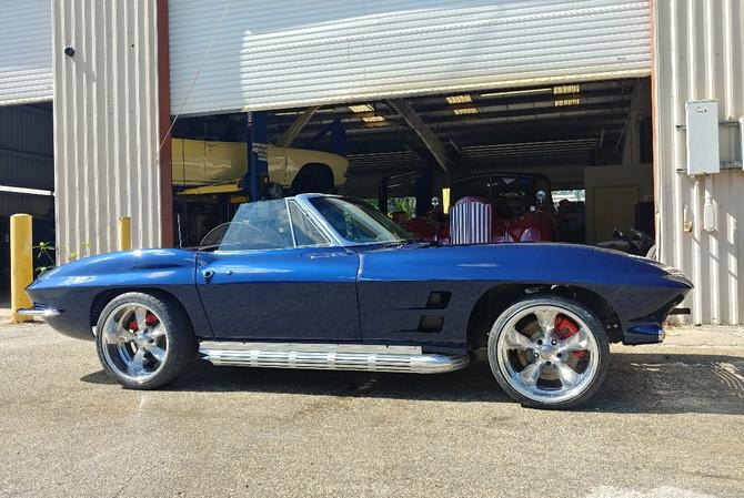1964 Corvette Convertible - Side View
