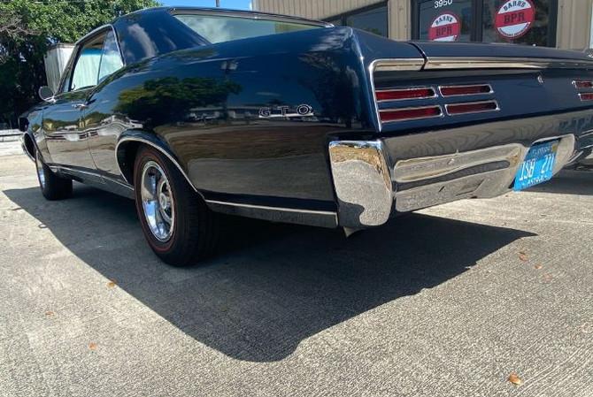 1967 Pontiac GTO - rear left
