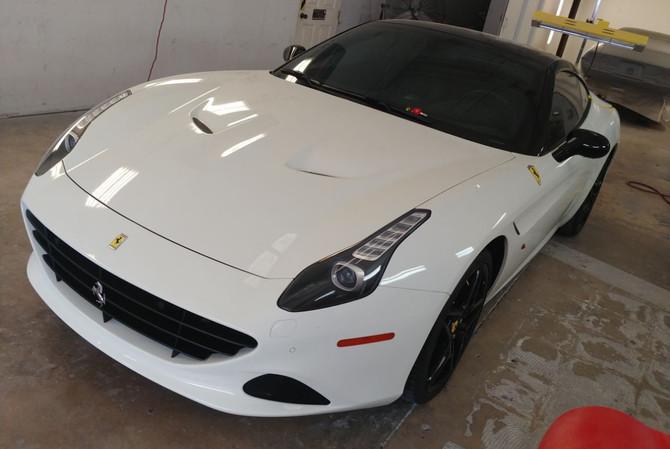 Ferrari Cali Trunk Repair (1)