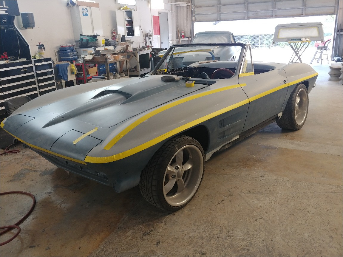 1964 Corvette Convertible - Restorations