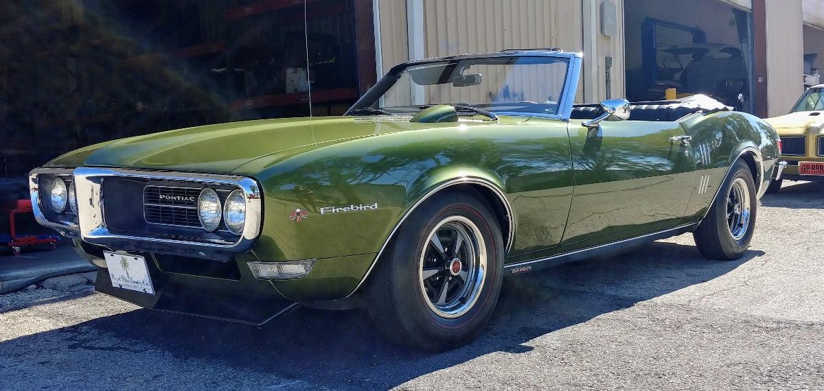 1968 Firebird Green