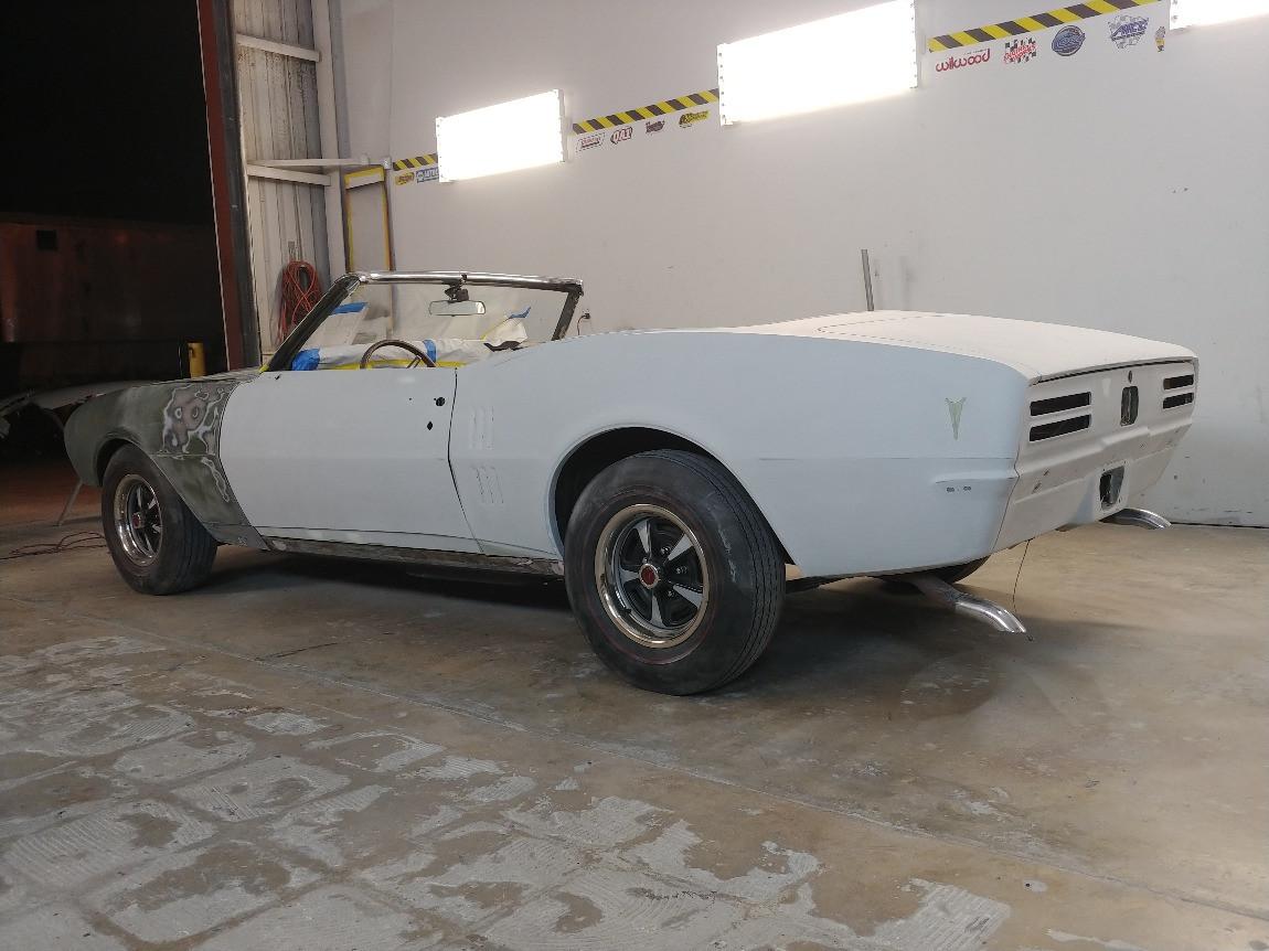 1968 Firebird Unfinished