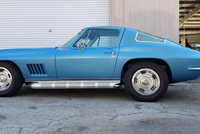 1967 Corvette Naples Paint