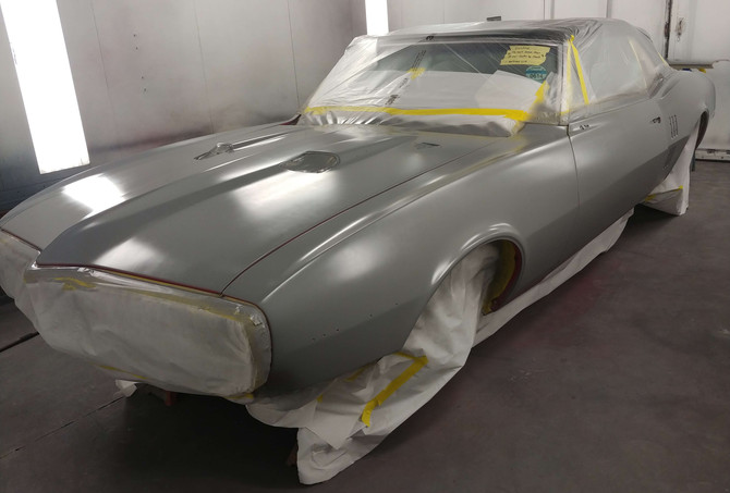 Gray Body Paint