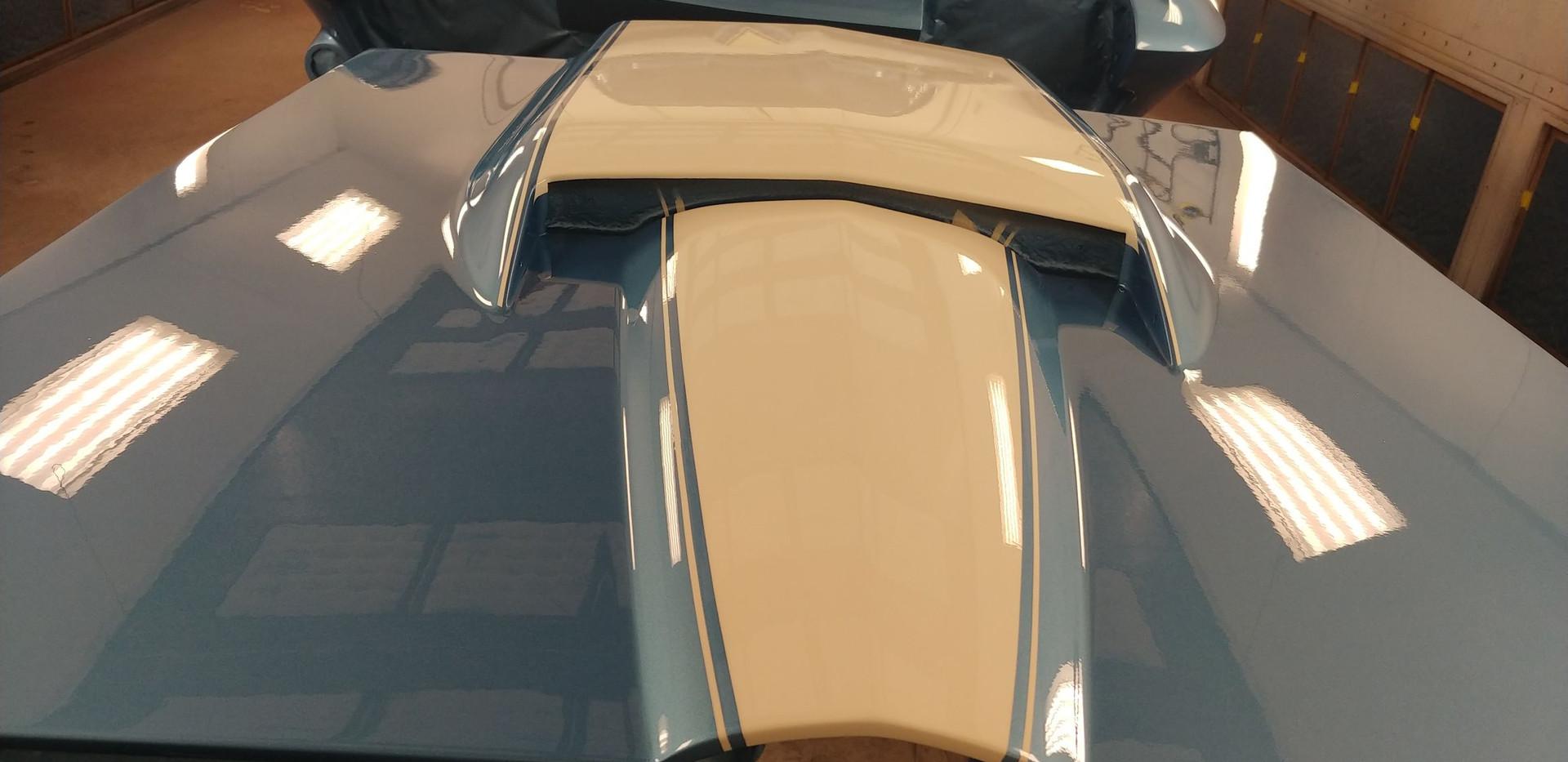 Custom, 1967 Corvette Paint