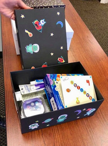 Welcome boxes for foster childern