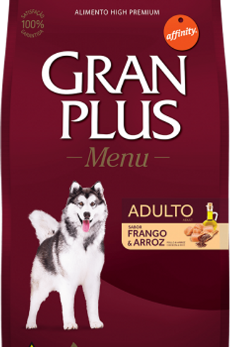 Gran Plus Menu 20kg - Frango e Arroz