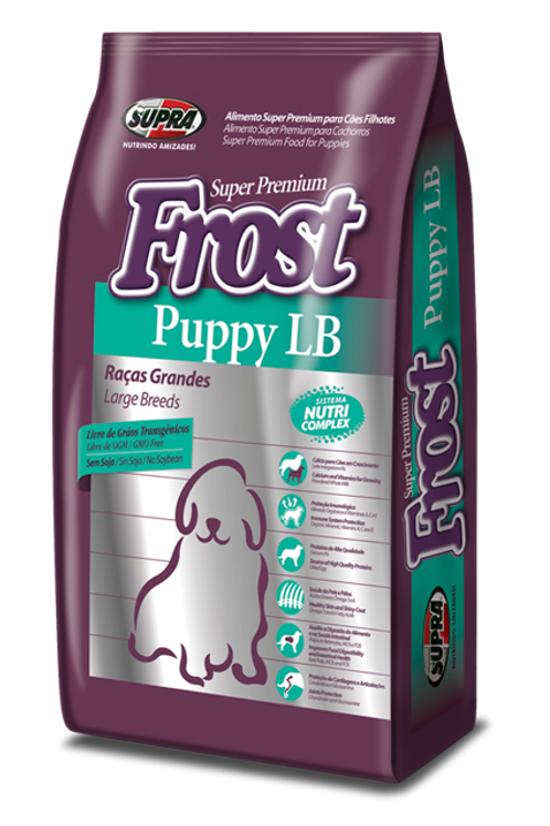 Frost Puppy LB - Raças Grandes - 15kg