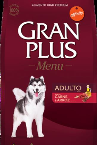 Gran Plus Menu 20kg - Carne e Arroz